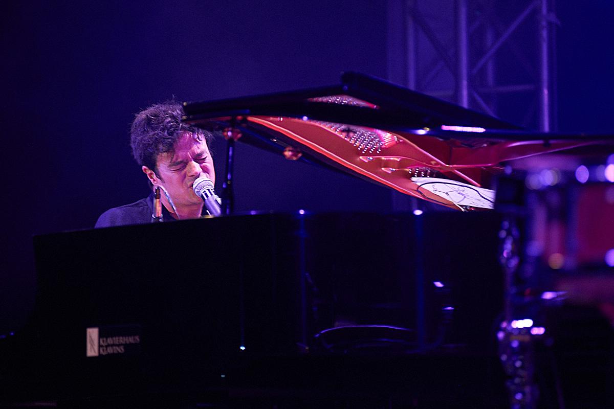 Jamie Cullum in Nidggen - Bühne unter Sternen 2017
