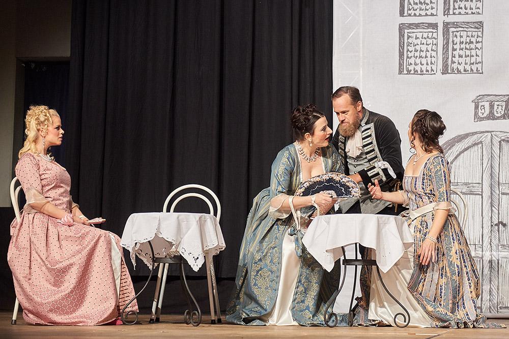 "Allegro Vivace - ""Der Bettelstudent"", Barbara Felicitas Marin, Silke Hartstang, Thomas Bonni, Linda Hergarten"