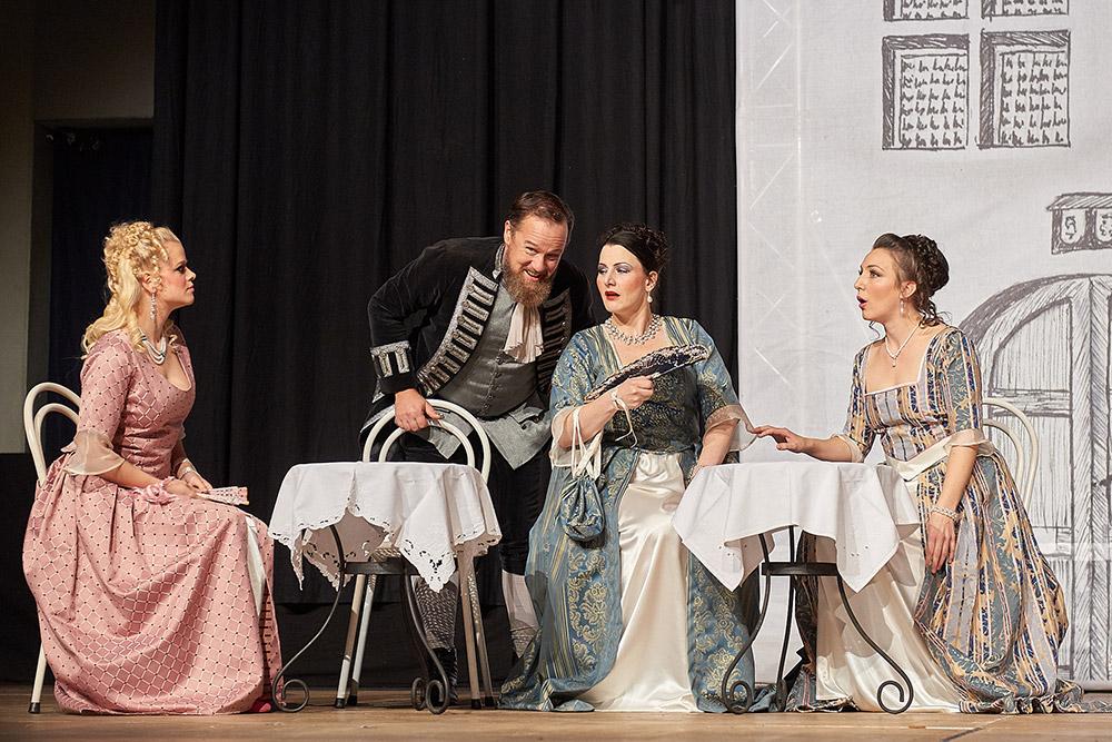 "Allegro Vivace - ""Der Bettelstudent"", Barbara Felicitas Marin, Thomas Bonni, Silke Hartstang, Linda Hergarten"