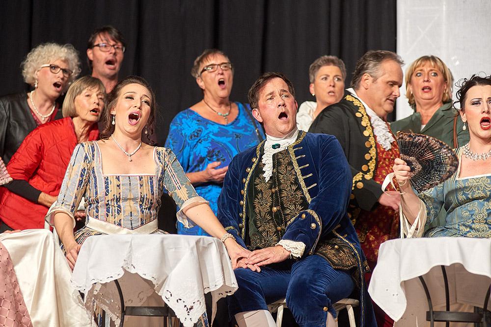"""Allegro Vivace - """"Der Bettelstudent"""", Linda Hergarten, Michael Kurz, Thomas Greuel, Silke Hartstang"""