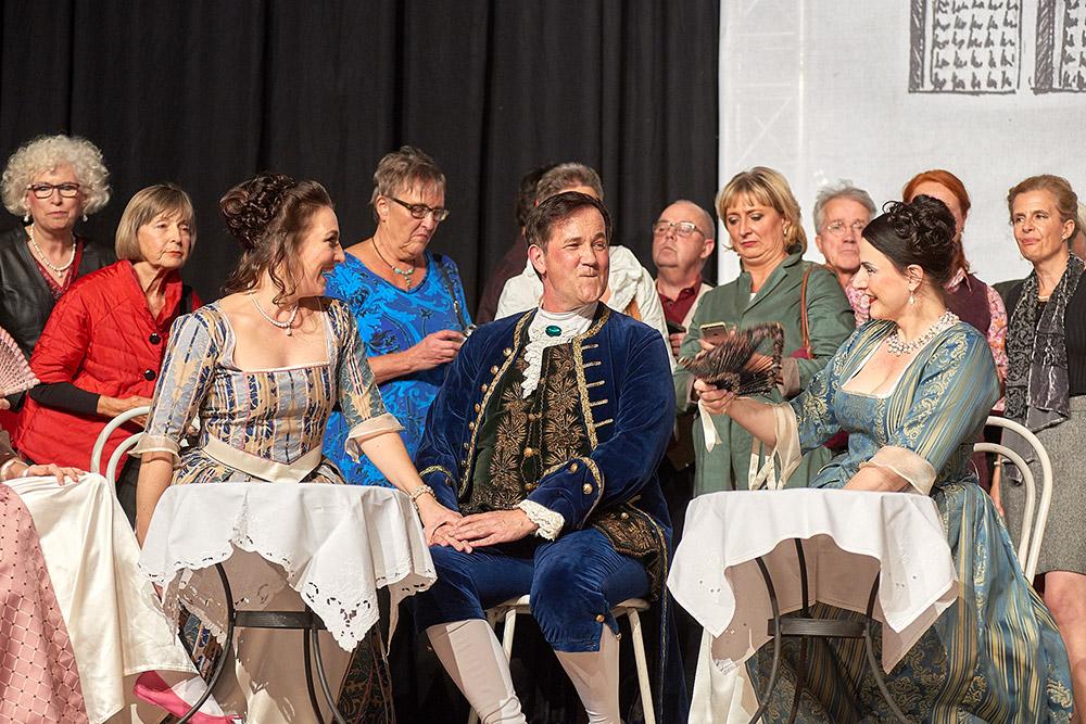 """Allegro Vivace - """"Der Bettelstudent"""", Linda Hergarten, Michael Kurz, Silke Hartstang"""