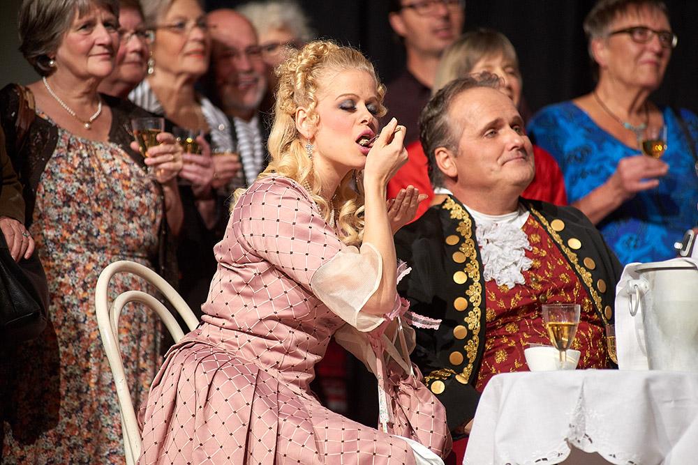 "Allegro Vivace - ""Der Bettelstudent"", Barbara Felicitas Marin und Thomas Greuel"