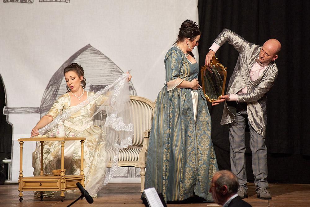 "Allegro Vivace - ""Der Bettelstudent"", Linda Hergarten, Silke Hartstang, Thomas Michael Günther"