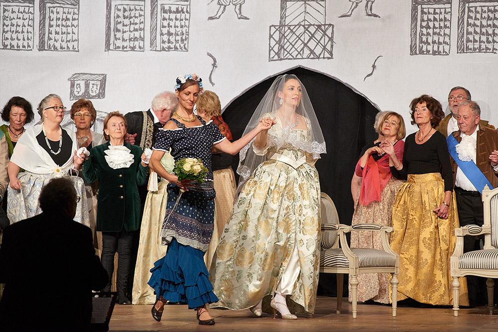 """Allegro Vivace - """"Der Bettelstudent"""", Avida Molina, Linda Hergarten"""