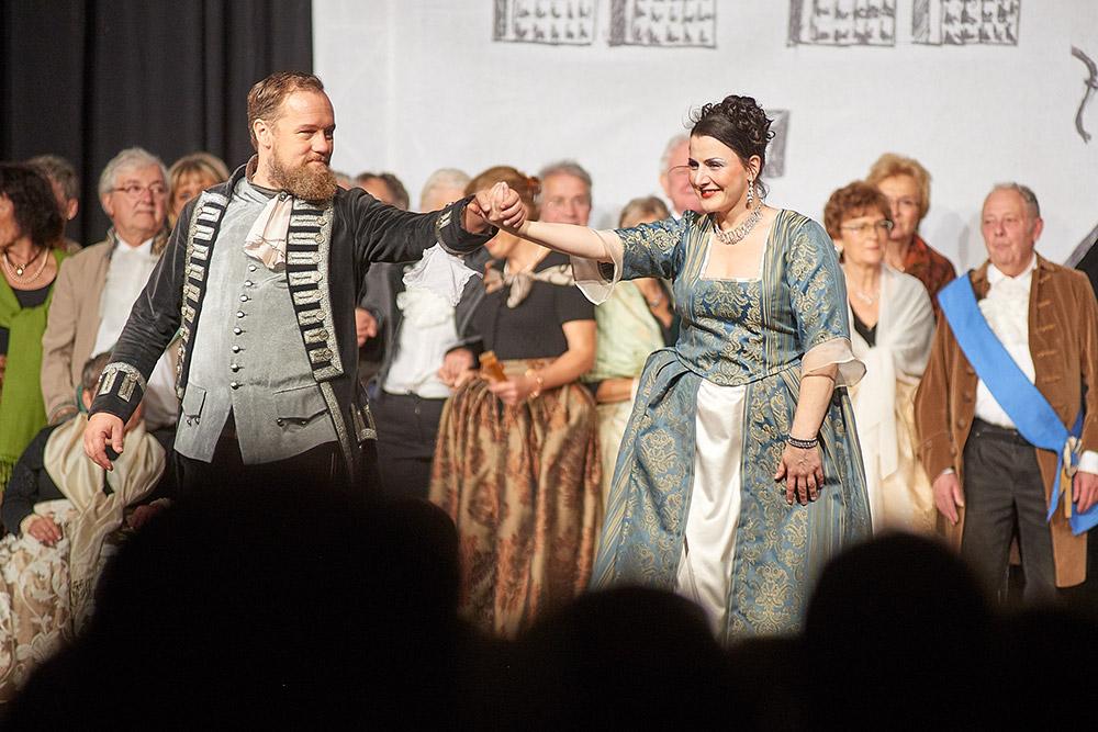 """Allegro Vivace - """"Der Bettelstudent"""", Thomas Bonni, Silke Hartstang"""