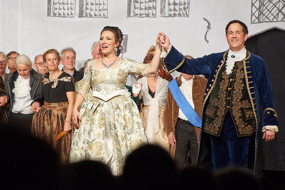 """Allegro Vivace - """"Der Bettelstudent"""", Linda Hergarten, Michael Kurz"""