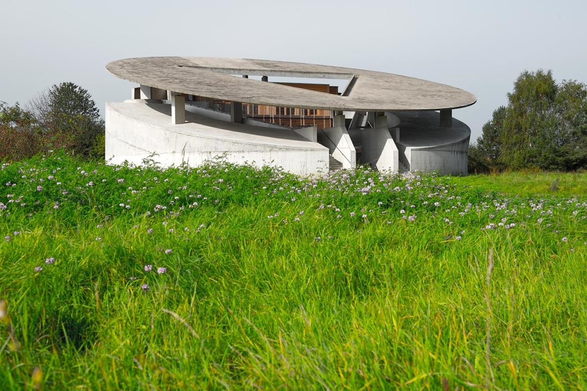 Abrahambau Raketenstation Hombroich - Architekt: Raimund Abraham