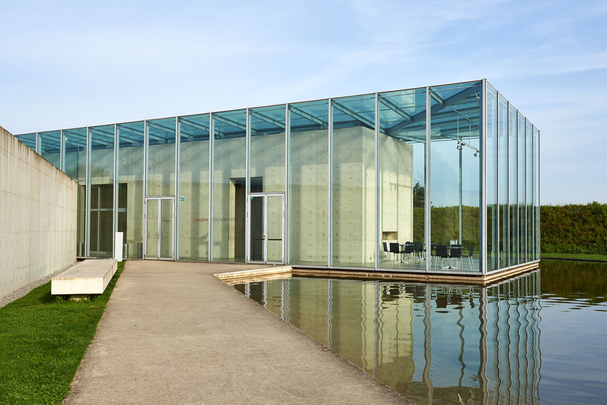 Langen Foundation - Architekt: Tadao Ando
