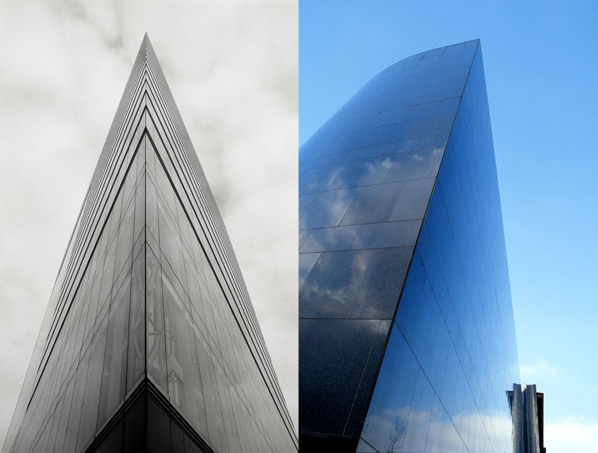 Stadttor und Kunstmuseum Düsseldorf