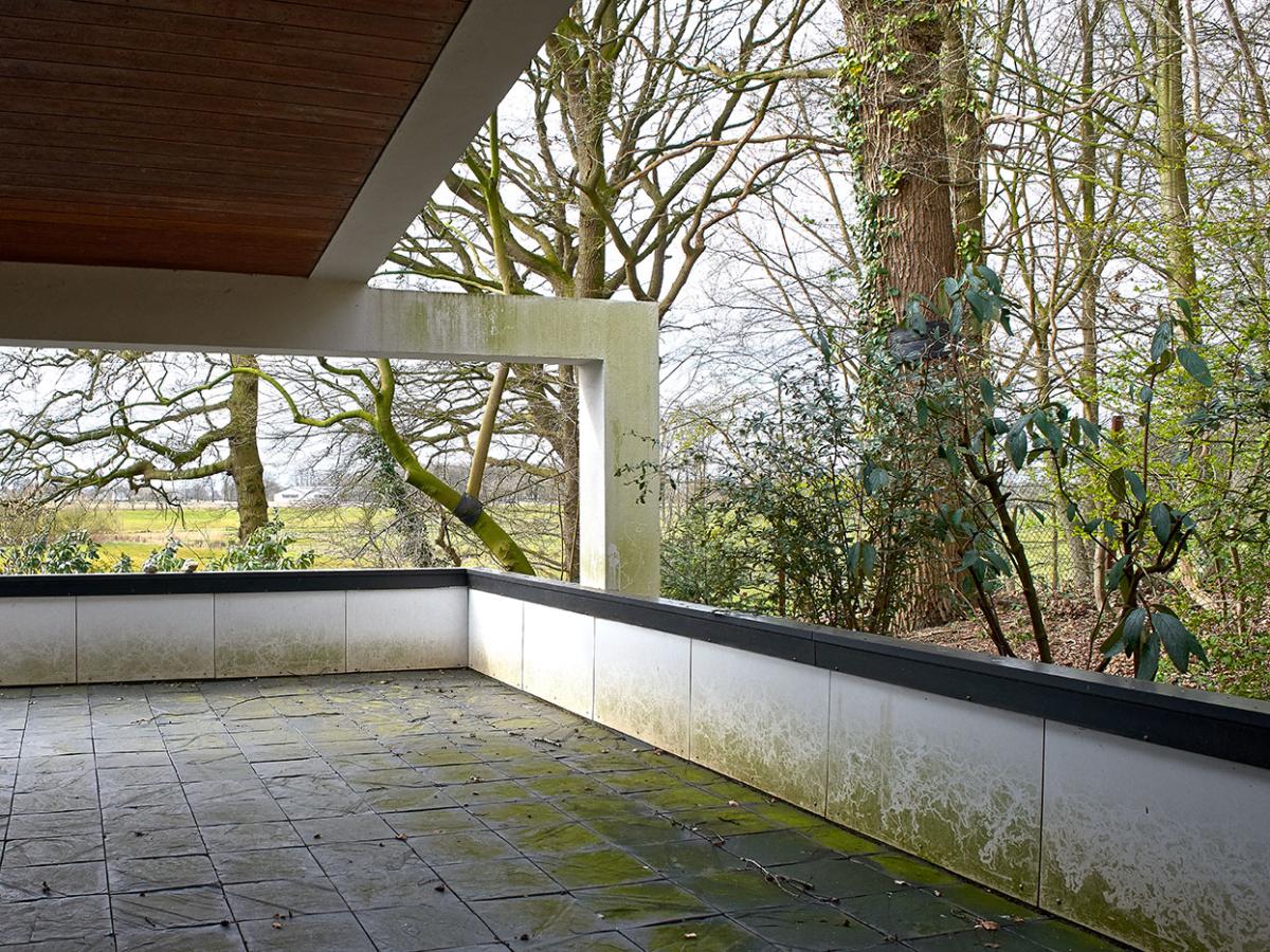 Terrasse 70er-Jahre