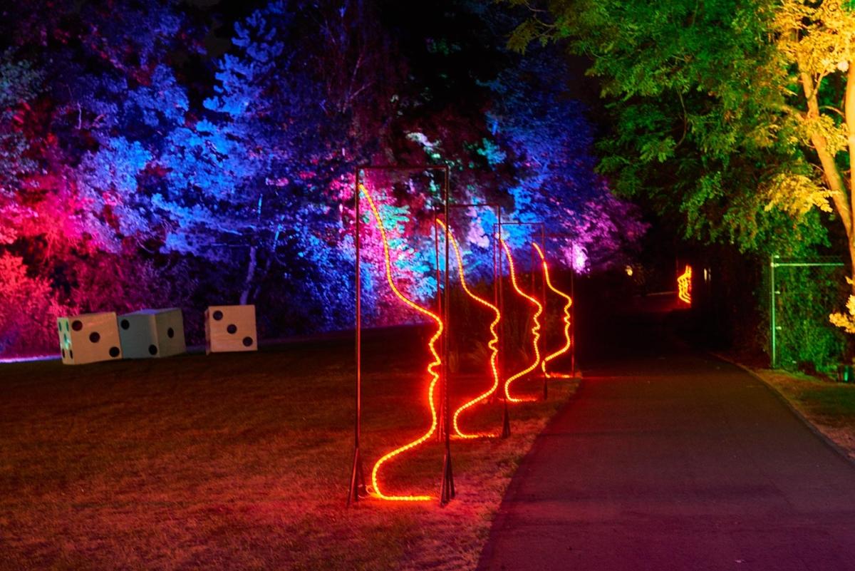 Leuchtende Gärten Zülpich 2016