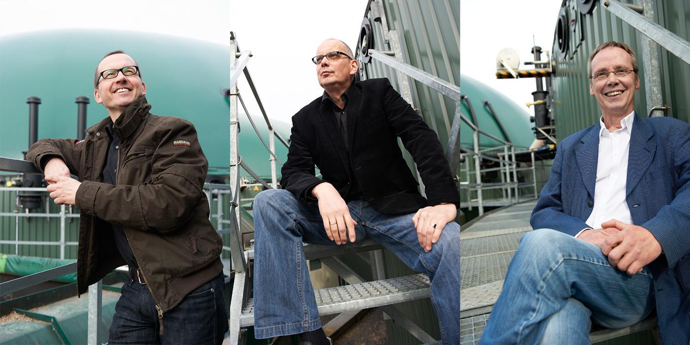 Martin Beyel, Dr. rer. nat. Klaus van de Weyer und Dipl.-Phys.Ing. Othmar Verheyen - Aufsichtsräte der ReEnergie Niederrhein AG
