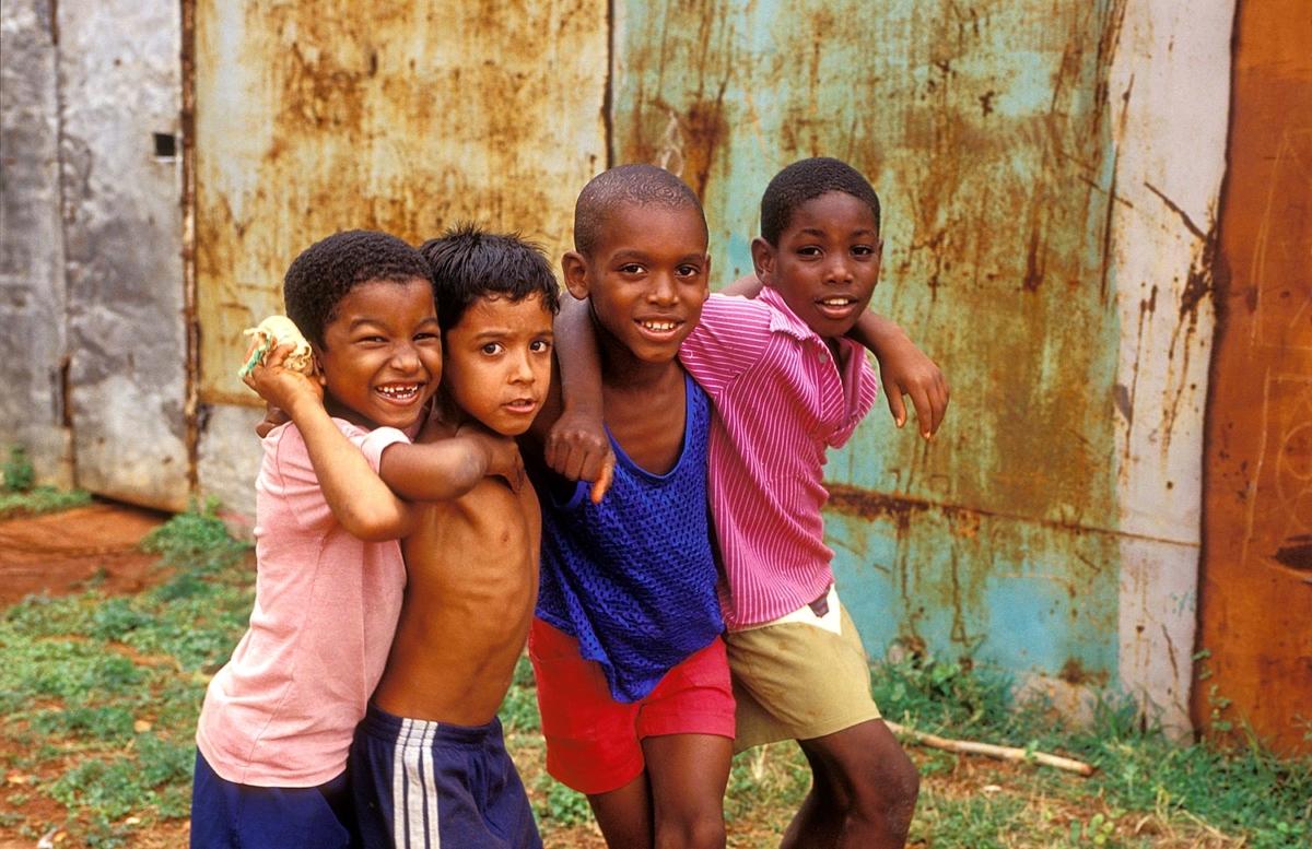 Kuba - Kinder in Havanna del Este