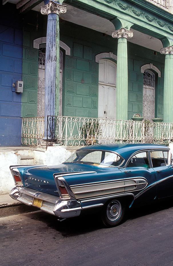 Kuba - Auto in Pinar del Rio