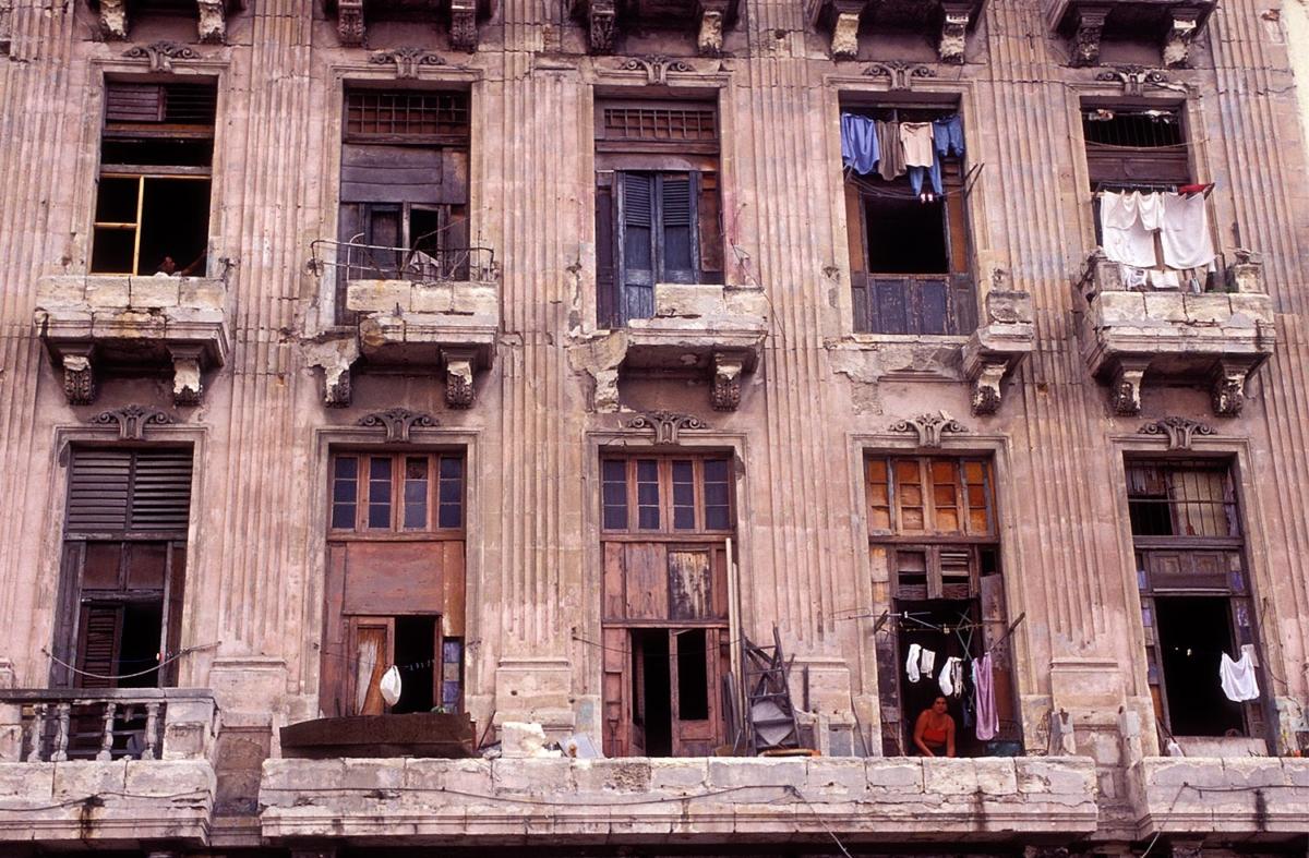 Kuba - Fassadengammel