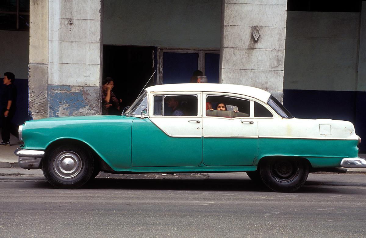 Kuba - Auto in Havanna