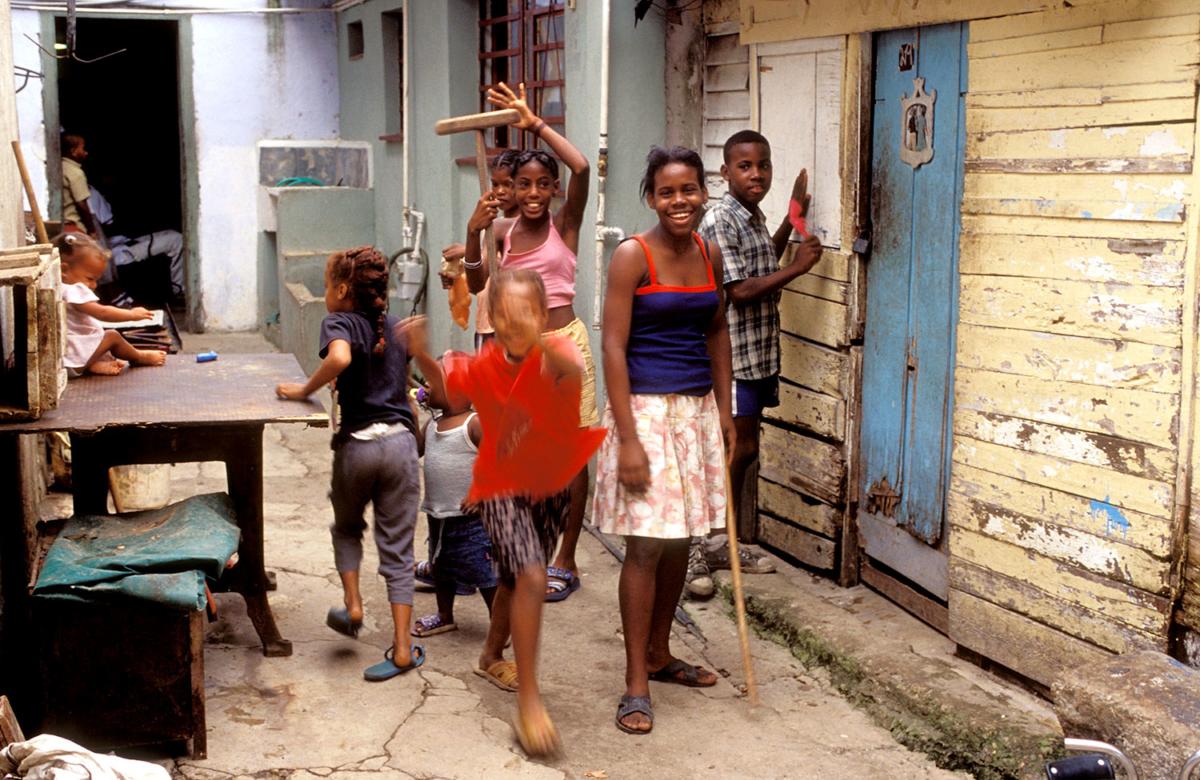 Kuba - Kinder in Havanna-Cerro