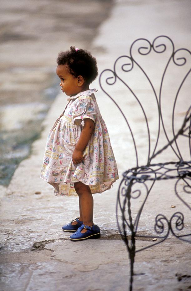 Kuba - Kleines Mädchen in Havanna