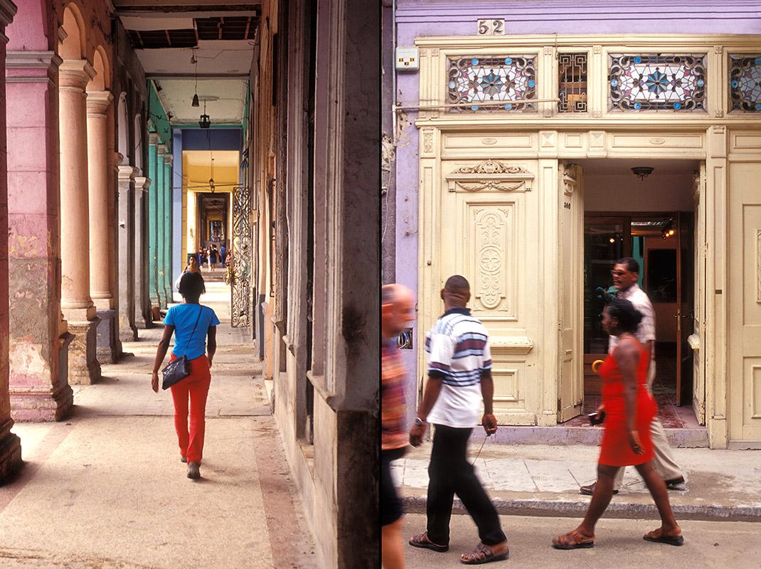 Kuba - Menschen auf der Strasse