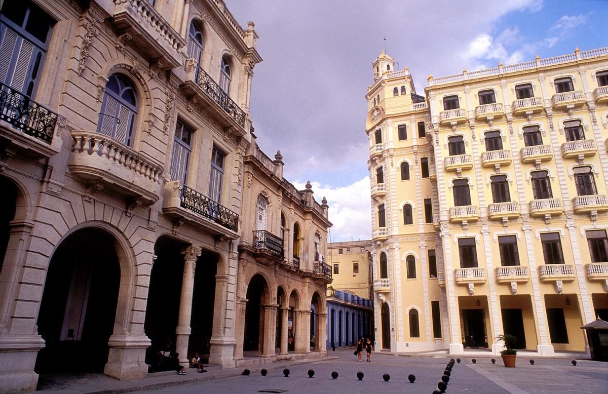Kuba - Plaza Vieja- Havanna