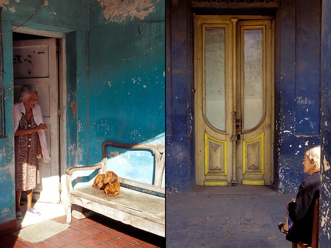 Kuba - Vor den Türen in Havanna
