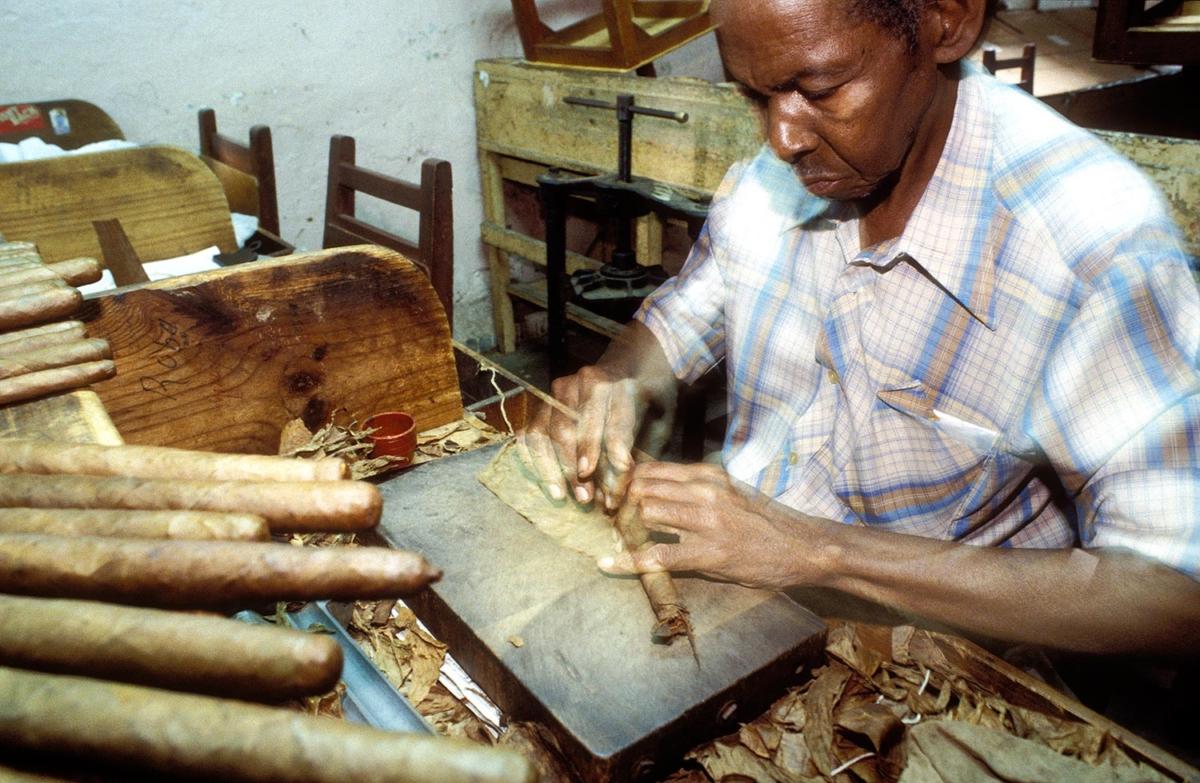 Kuba - Zigarrenfabrikation - Pinar del Rio