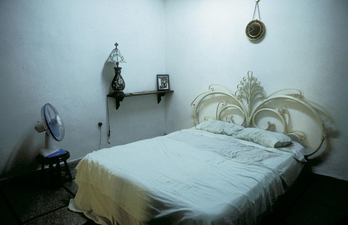 Kuba - Schlafzimmer in Havanna