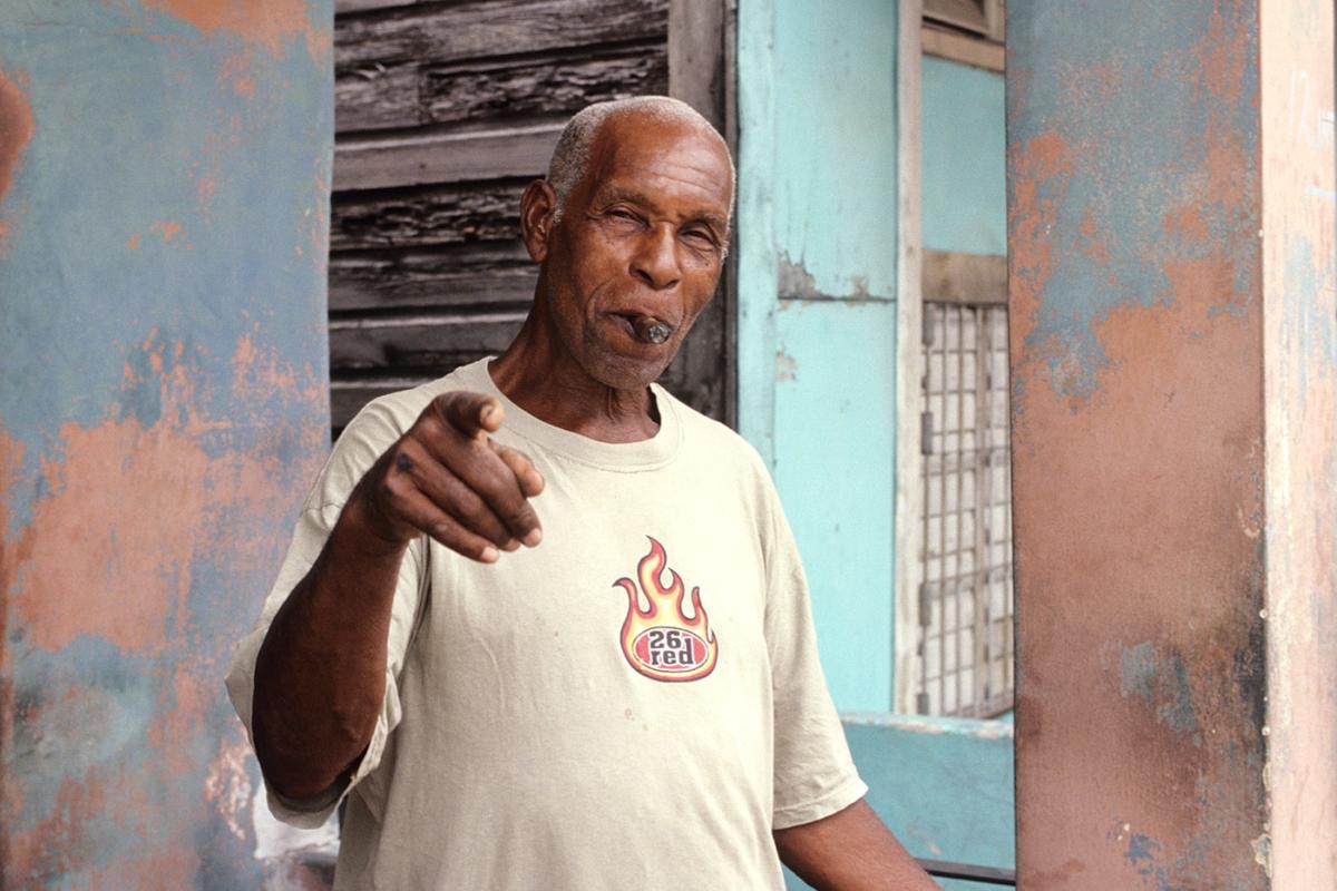 Kuba - Zigarrenmann
