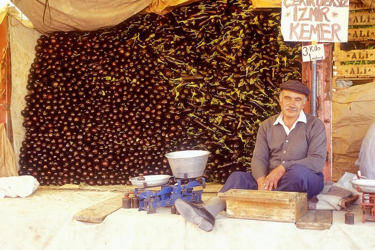 Kappadokien - Auberginenhändler