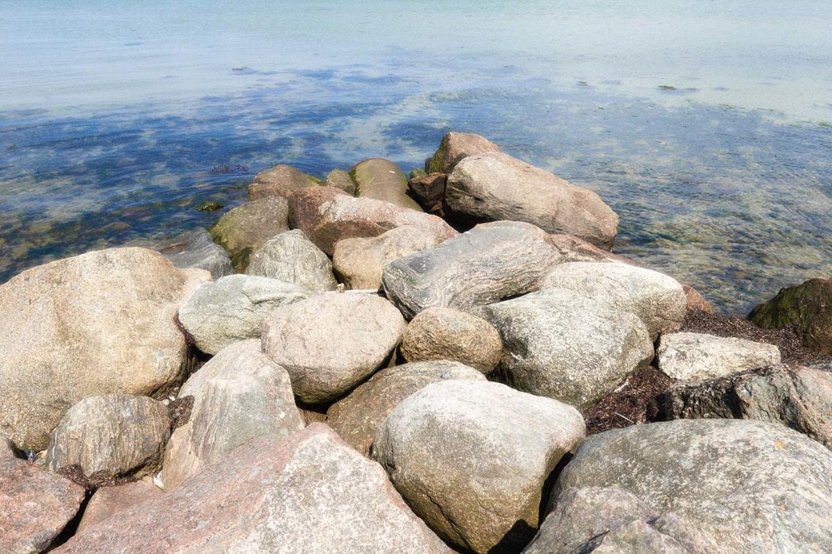 Steine an der Ostsee
