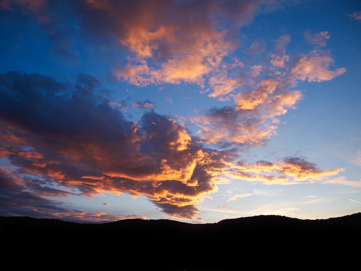 Sonnenuntergang in Abenden