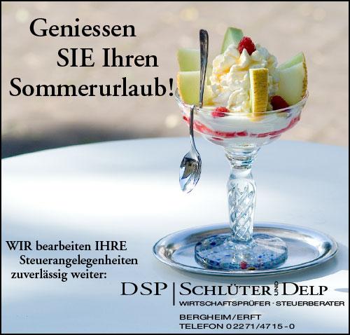 Anzeige für DSP Schlüter & Delp