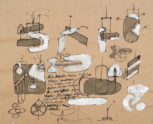 Arbeit des Künstlers Ralf Henne