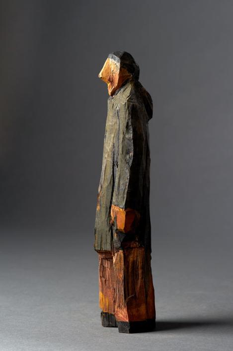 Holzschnitzfigur von Ralf Henne