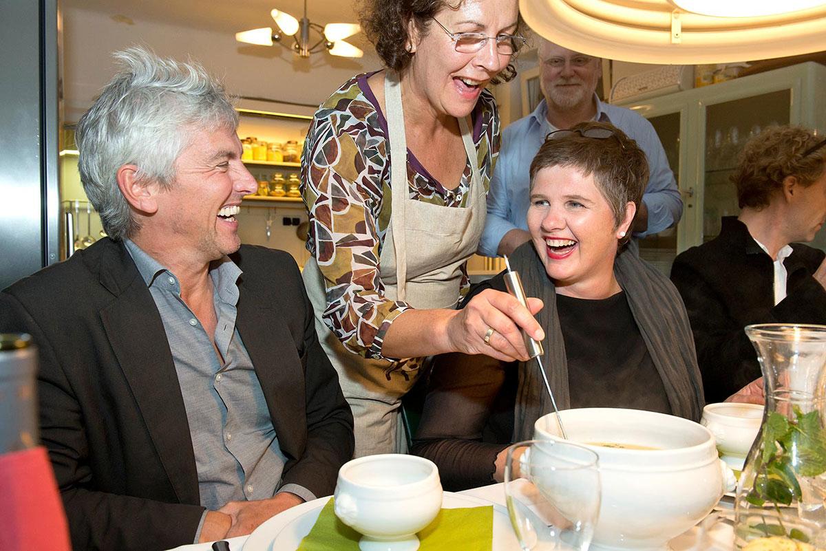 Table d'Hôte bei Veronique Bouteleux