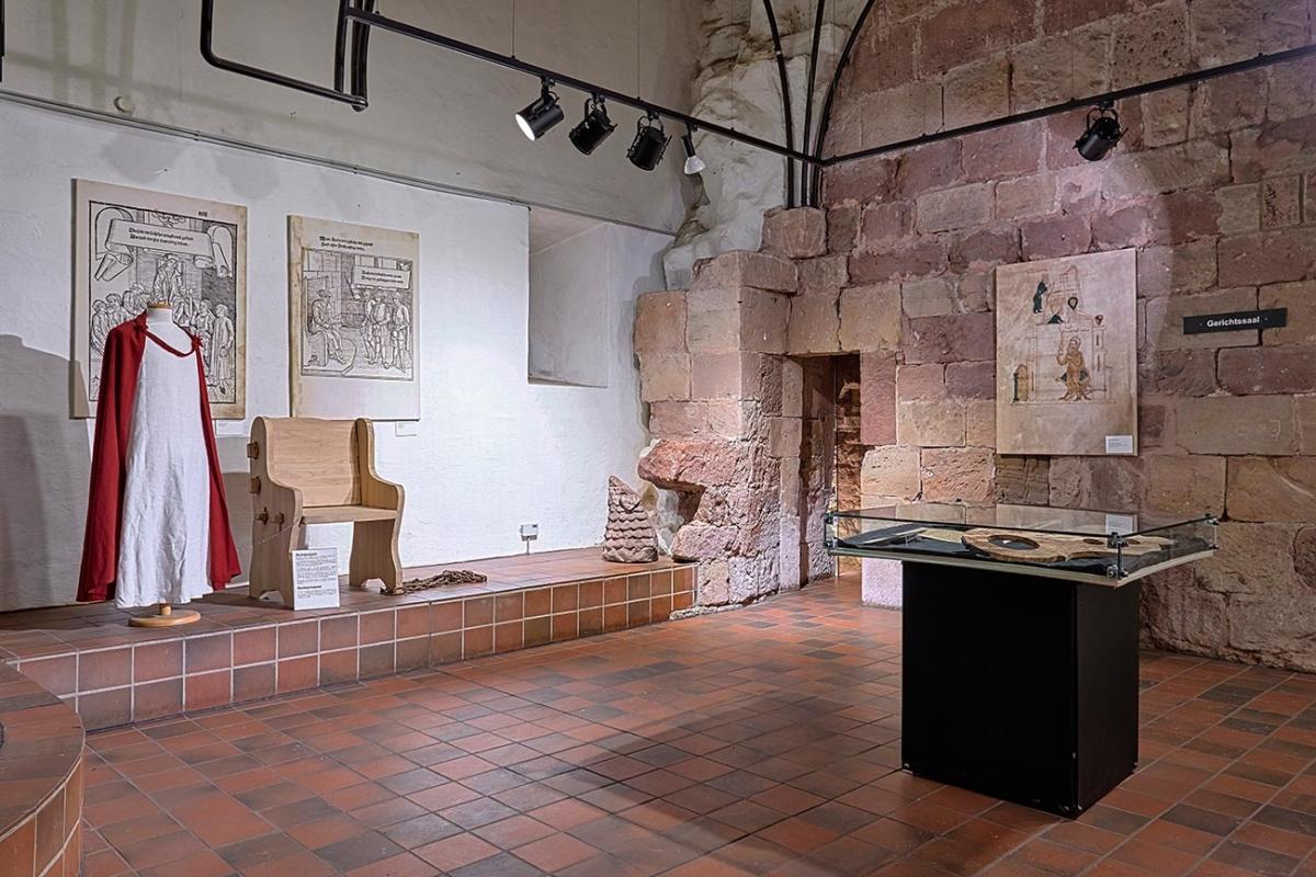 Gerichtssaal Burgenmuseum Nideggen