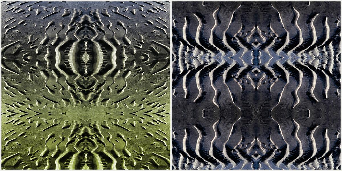 Spiegelungen aus Wattfotos
