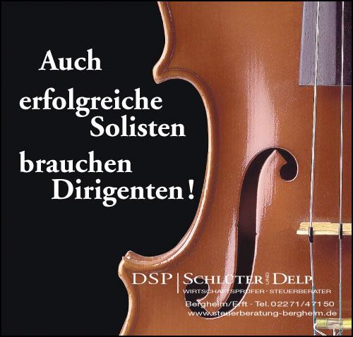 Anzeige Bratsche für DSP Schlüter & Delp